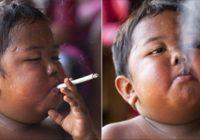 Atceries bērnu, kurš dienā izsmēķēja 40 cigaretes? Paskaties, kā viņš izskatās tagad!