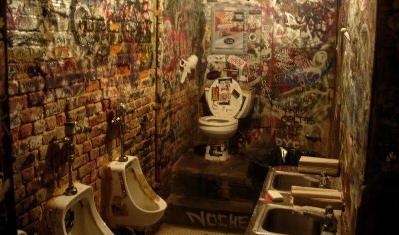 grafiti tualete