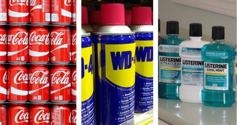 10 populāras preces un produkti, kuri sākotnēji tika radīti citam nolūkam