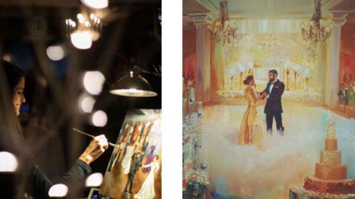 """Padari svētkus īpašus, papildus fotogrāfijām pasūtot arī """"dzīvo gleznu"""". Uzzini, kas tā ir!"""