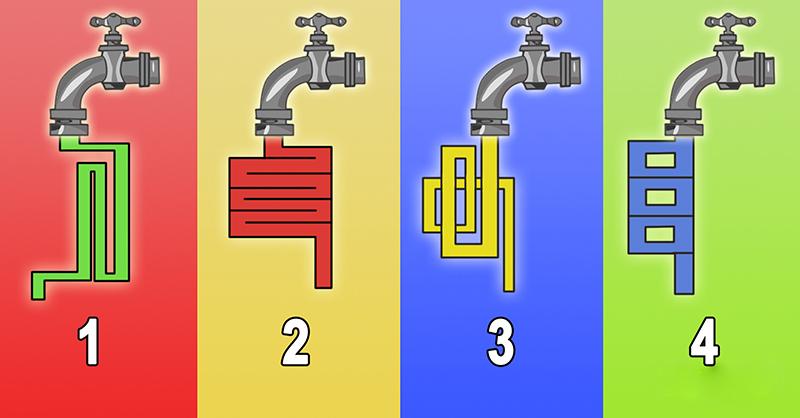 Intelekta TESTS. Vai spēj atbildēt, kurā no gadījumiem ūdens iztecēs ātrāk?