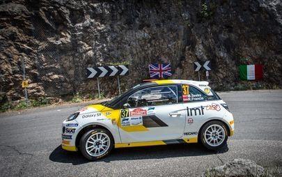 """Jaunais latvietis Mārtiņš Sesks ar Opel ADAM R2 uzvar """"Rally di Roma Capitale"""""""