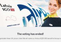 Noskaidrotas uzvarējušās pilsētas airBaltic balsojumā, pēc kura rezultātiem tiks nodevētas jaunās lidmāšinas