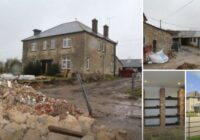 Pāris nopirka pussabrukušu ēku un pārvērta to par īstu sapņu māju