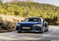 Ievērojami modernizēts ātrākais un iekārojamākais Audi modelis: Audi R8