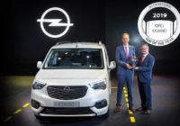 Jaunais OPEL COMBO novērtēts kā labākais kravas furgons 2019