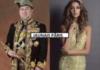 """Bijusī """"Miss Maskava"""",25 , apprecējusies ar Malaizijas karali, 49; Kleita gan ir brīnumskaista"""