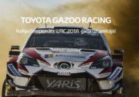 Toyota ir pasaules čempions autorallijā