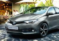 Toyota Auris galvenās iezīmes
