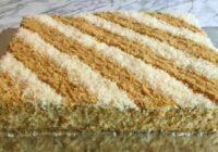 Lieliska un vienkārša recepte tortei bez cepšana – pagatavojama no cepumiem