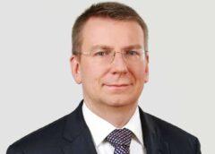 Ārlietu ministrs E. Rinkēvičs viesojas Kuldīgā
