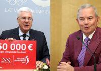 """BNN: Kamēr sportistiem trūkst naudas, Latvijas Olimpiskā komiteja """"trekni""""maksā Lembergam"""