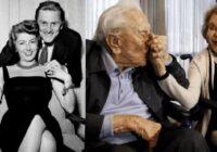 Viņam 102, viņai – 100, kopā jau 65 gadus: vecākā Holivudas pāra stāsts