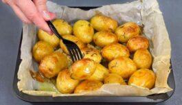 Cepti kartupeļi – garšīgākie kādus būsiet ēduši; Recepte ar mazu noslēpumu