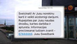 VIDEO: Nakts laikā, kamēr cilvēks guļ, no Swedbank konta nozog naudu