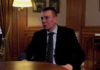 Ārlietu ministrs Edgars Rinkēvičs nācis klajā ar pozitīvām ziņām attiecībā uz pandēmiju