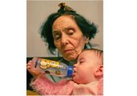Sievietei piedzima bērns 66 gadu vecumā; ir pagājuši 15 gadi, kā viņas meita izskatās tagad