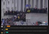 Tiešraide: Trampa fani ielauzušies ASV Kapitolija ēkā