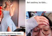 Meitene internetā pasūtīja skaistu vakarkleitu, bet saņemtais lika izplest acis