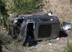 Video: Golfa zvaigzne Taigers Vudss iekļuvis smagā autoavārijā – situācija ir nopietna