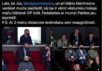 VIP persona ministrs Rinkēvičs padziļinājis plaisu starp valdību un sabiedrību